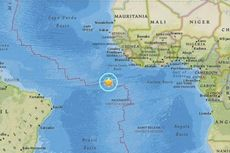 Gempa 7,1 M Guncang Pulau Terpencil di Samudra Atlantik
