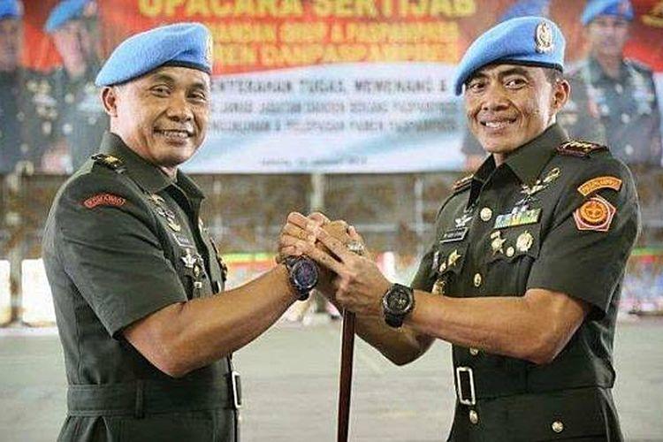 Brigjen TNI Tri Budi Utomo kini resmi menjadi Danpaspmpres.
