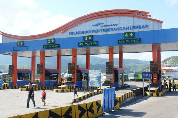 Pelabuhan Lembar, Kabupaten Lombok Barat, NTB.