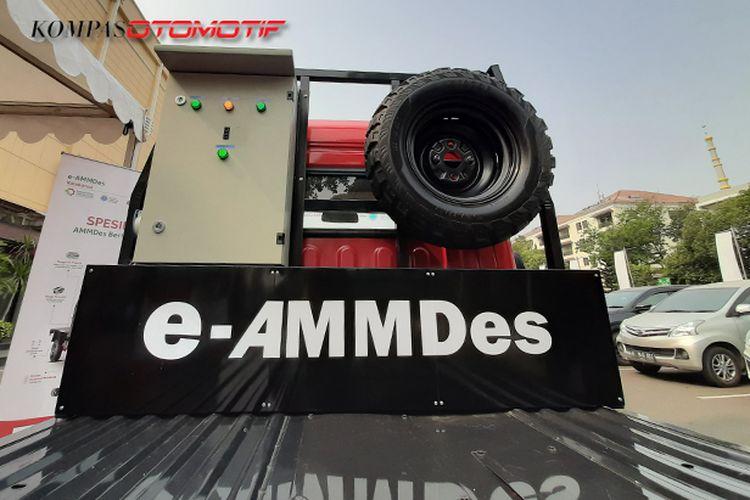 AMMDes Listrik di Indonesia Electric Motor Show (IEMS) 2019