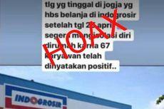 [KLARIFIKASI] 67 Karyawan Indogrosir Yogyakarta Disebut Positif Virus Corona