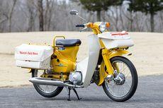 5 Motor Bebek Honda yang Dibuat Khusus buat Pak Pos dan Loper Koran