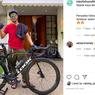 Gaya Raffi Ahmad Bersepeda Pakai Road Bike dari Look