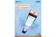 Inovasi Cashless Payment, BRI Luncurkan 80.000 EDC Android Untuk Tahap Pertama