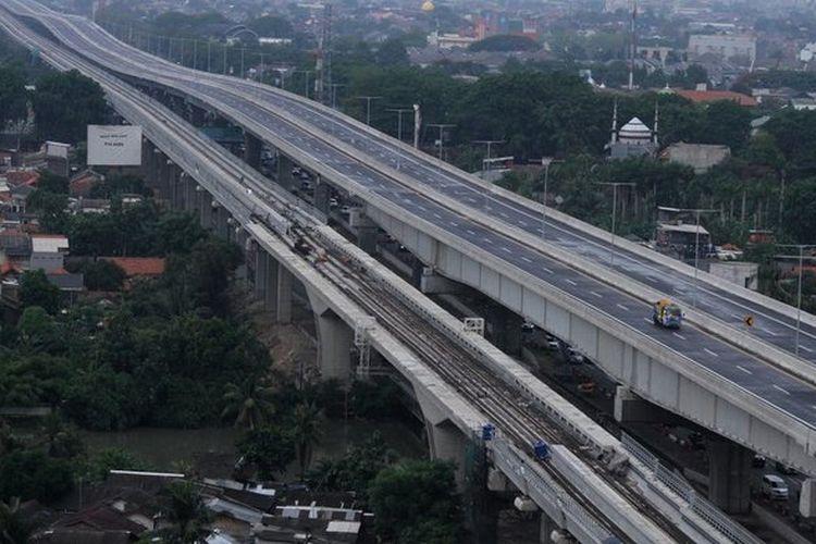 Jalan Tol Layang Jakarta-Cikampek akhirnya diresmikan Presiden Jokowi pada Kamis 12 Desember 2019