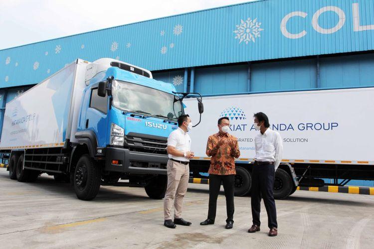 Astra Isuzu dan Transport Kiat Ananda Group