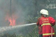 Akibat Pembakaran Sampah, Bengkel Mobil di Tangerang Terbakar