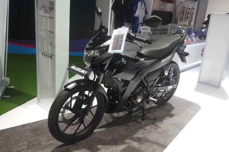 Suzuki All New Satria FU 150 menjadi satu-satunya sepeda motor bebek yang muncul di pameran Indonesia International Motor Show (IIMS) 2018.