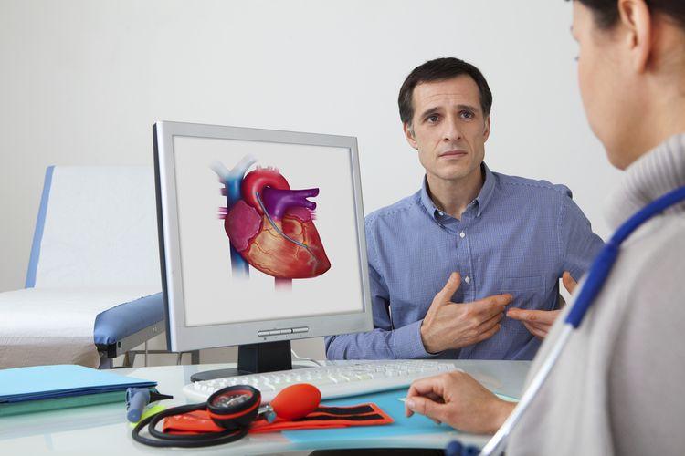 Ilustrasi penyakit jantung. Pemeriksaan jantung secara rutin, menjadi salah satu cara mencegah penyakit jantung, penyakit penyebab kematian tertinggi di dunia.