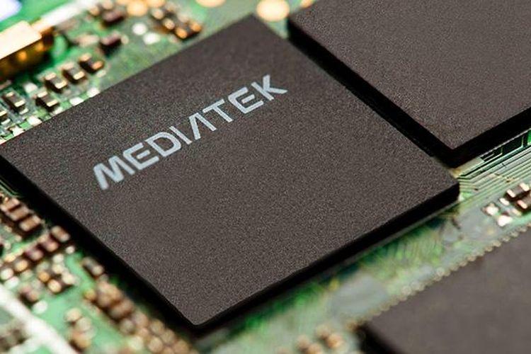 Ilustrasi chip MediaTek