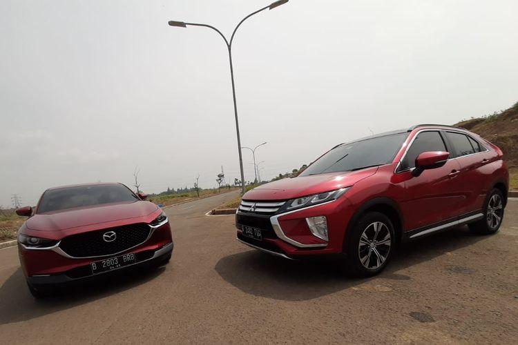 Mazda CX-30 vs Mitsubishi Eclipse Cross