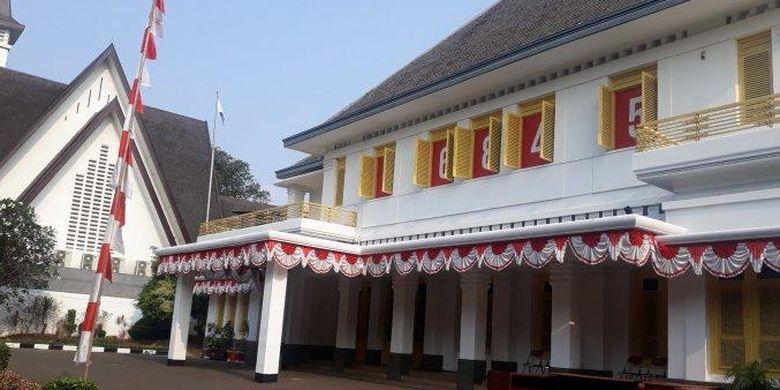 Suasana Museum Perumusan Teks Proklamasi (TRIBUNJAKARTA.COM/SATRIO SARWO TRENGGINAS)