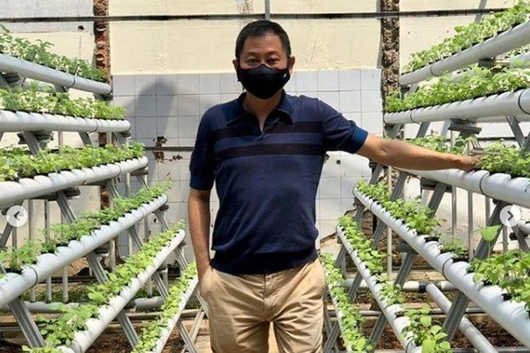 Tak Lagi Jadi Menteri, Jonan Kini Sibuk Jadi Petani Sayur