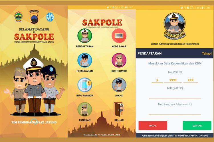 Ilustrasi Sakpole E-Samsat