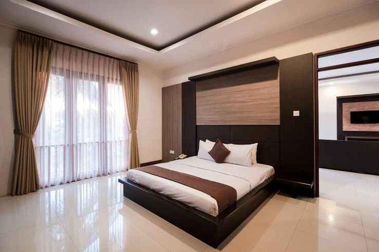 Ilustrasi hotel - Kamar tipe Family Suite di Surya Kencana Seaside Hotel, Pangandaran.