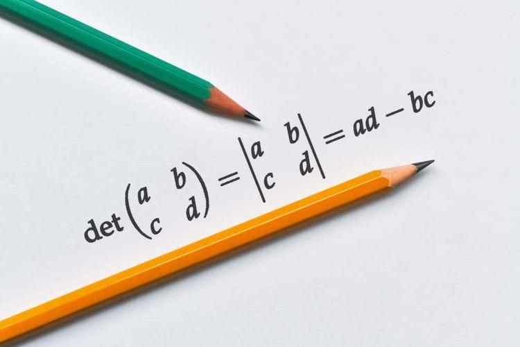 Sebuah metode untuk menghitung determinan matriks 2x2