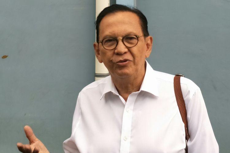 Roy Marten saat ditemui di kawasan Tendean, Jakarta Selatan, Kamis (20/2/2020)