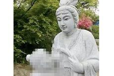Ada Patung Wanita Menyusui Ibu Mertua, Taman di China Banjir Kritikan
