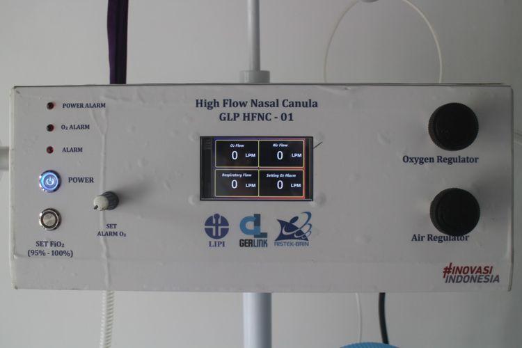 Gerlink LIPI High Flow Nasal Cannula-01 merupakan produk inovasi LIPI untuk membantu perawatan pasien Covid-19.