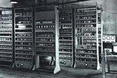Komputer Bersejarah Nyaris Berakhir Jadi Rak Buku