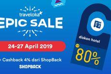 Lewat ShopBack, Pesan Hotel di Traveloka Bisa Dapat Uang Rp 100 Ribu!