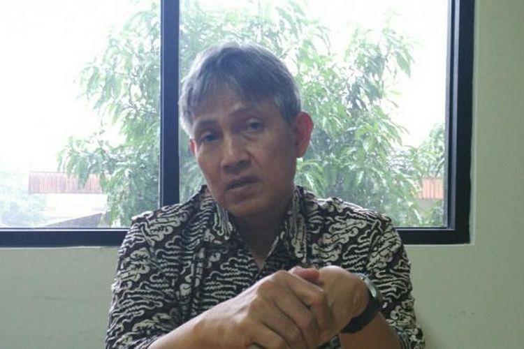 Komisioner KPU DKI Jakarta Bidang Pemutakhiran Data Pemilih, Moch Sidik, di Kantor KPU DKI, Jalan Salemba Raya, Jakarta Pusat, Selasa (1/11/2016).