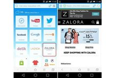 Kerja Sama Baidu dan Zalora Hadirkan Diskon Bagi Pengguna Baidu Browser di Indonesia
