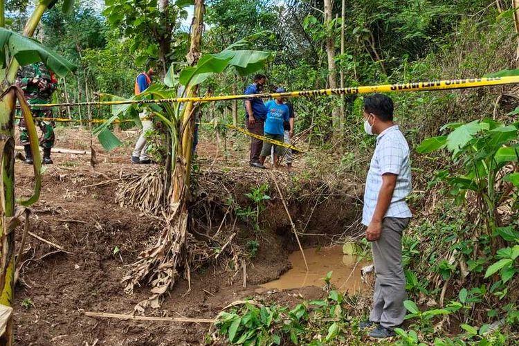 Inilah lokasi ditemukannya tiga bocah SD yang tewas di sumber air di Desa Wringinanom, Kecamatan Sambit, Kabupaten Ponorogo, Jawa Timur, Minggu (1/11/2020).