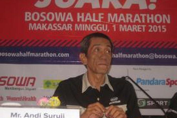 Komisaris PSM Makassar Andi Suruji