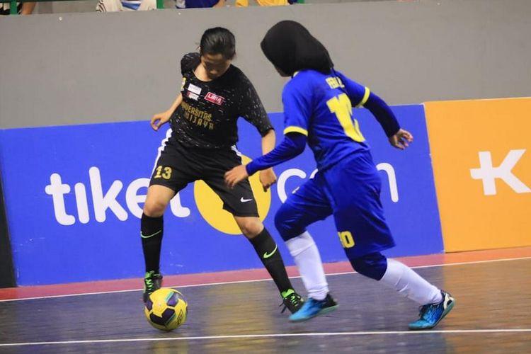 Laga futsal putri Liga Mahasiswa Sumatra Conference Seasons 7 di Kota Palembang. Kejuaraan diikuti 10 tim putra dan 3 tim putri mulai 13-24 Oktober 2019.