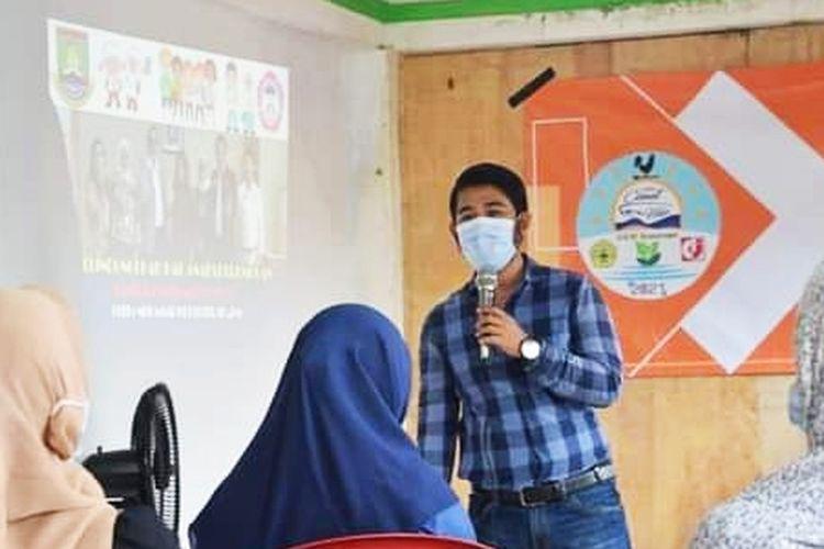 Ketua LPA Banten Muhammad Uut Lutfi