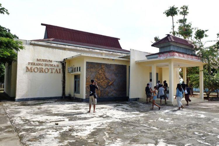 Museum Perang Dunia II di Morotai dikunjungi tim Terios 7-Wonders, Rabu (19/7/2017). Museum ini berisi peninggalan perang pada masa ketika Morotai menjadi basis bagi tentara Jepang kemudian Amerika Serikat ketika memperebutkan wilayah Filipina.