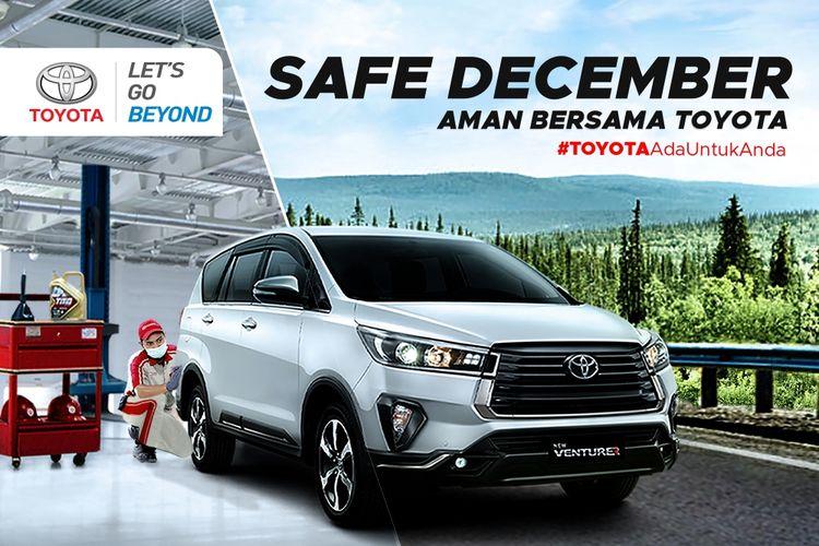 Program servis Toyota pada Desember 2020.