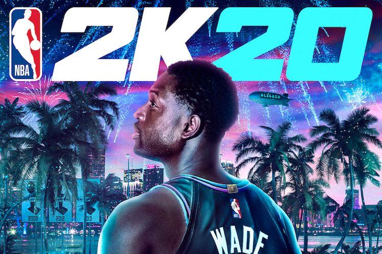Sampul game NBA 2K20 Legend Edition