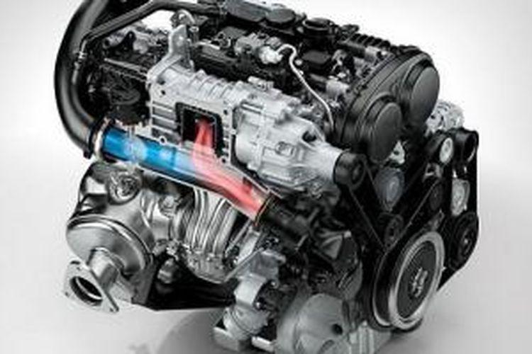Mesin tiga silinder Volvo