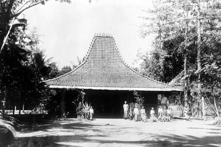 Rumah warga Jepara era Hindia Belanda.