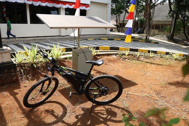Easy Bike, sepeda listrik tenaga surya, karya sekelompok mahasiswa Unpad.