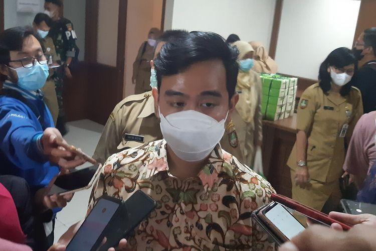 Wali Kota Solo, Gibran Rakabuming Raka di Solo, Jawa Tengah, Senin (14/6/2021).