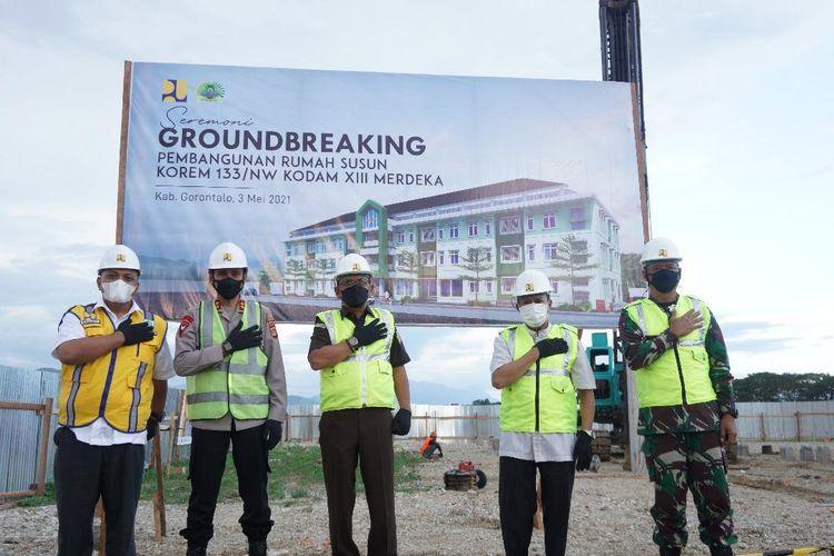 Kementerian PUPR Bangun Rusun TNI di Gorontalo Senilai Rp19,5 Miliar