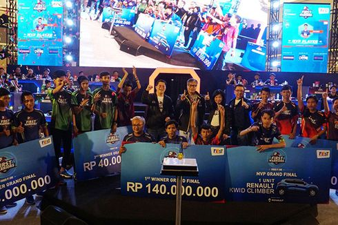Hasil Final First Warriors 1, Lahirkan Talenta Baru di Dunia eSports
