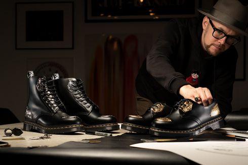 Dr Martens Rilis Sandal hingga Sepatu Berhias Emas dan Perak