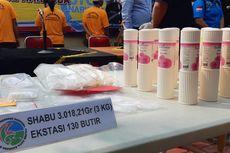 Polres Bandara Soekarno_Hatta Musnahkan 3 Kg Sabu-sabu