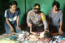 Polisi Ini Rela Sisihkan Gaji untuk Bantu Pengobatan Anak Penderita Tukak Lambung