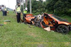 Kronologi Kecelakaan McLaren di Jagorawi Hingga Mobil Hancur
