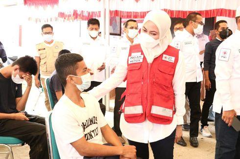 Kejar Herd Immunity, Bupati IDP Optimistis Vaksinasi di Luwu Utara Capai 90 Persen