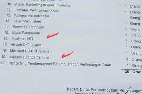 PNS DKI Pembuat Undangan ke Perempuan HTI Diskors