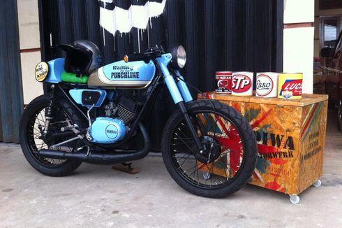 Motor Jadul Yamaha RS100 Juga Bisa Jadi Cafe Racer