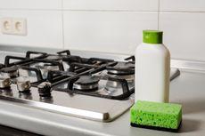 Cara Bersihkan Noda Minyak dari Kompor Gas, Lakukan Minimal Seminggu Sekali