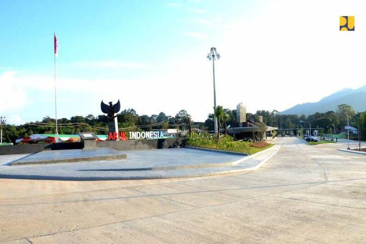 PLBN Aruk di Kalimantan Barat.