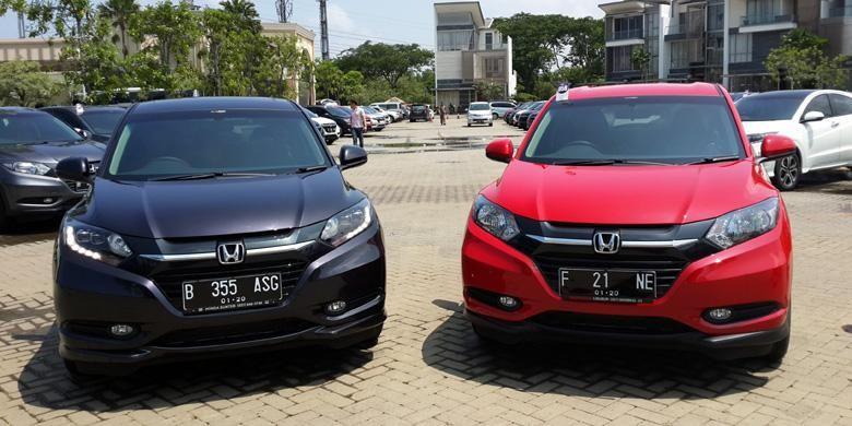 Honda HR-V ditawarkan dalam lima tipe yang bisa dipilih konsumen.